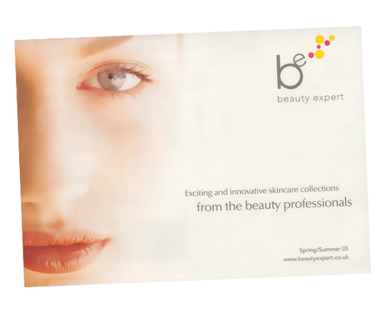 Beauty Expert catalogue design