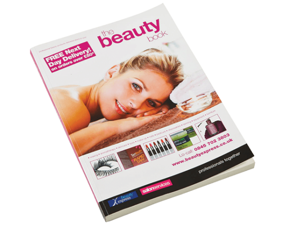 Beauty Express catalogue design