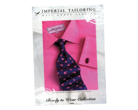 Imperial Tailoring catalogue design