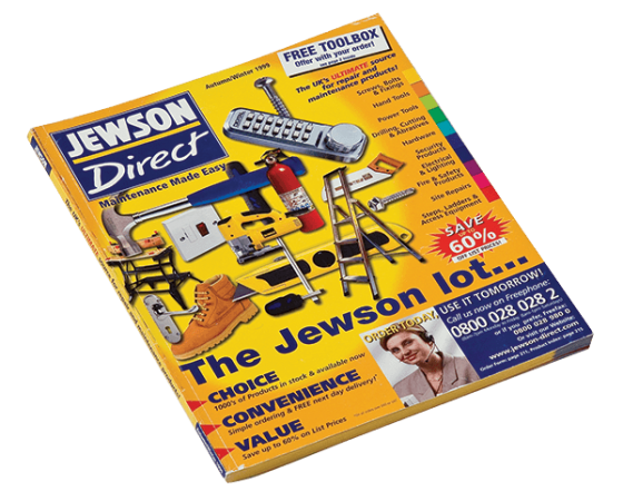 Jewson Direct catalogue design