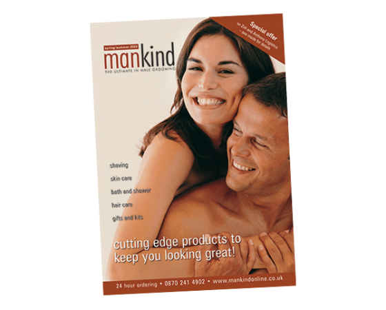 Mankind catalogue design