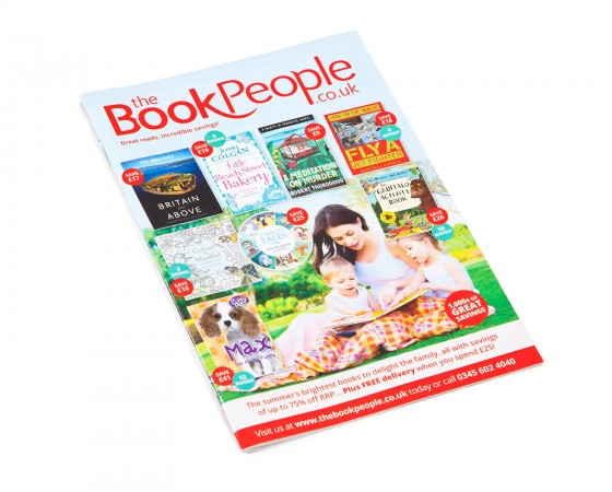 The Book People Header